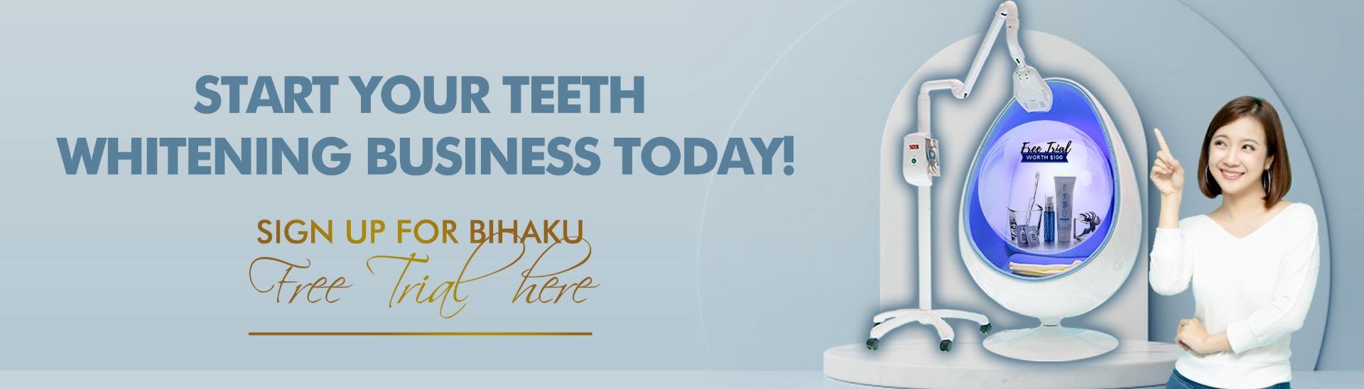 Beauty Garage Bihaku Teeth Whitening