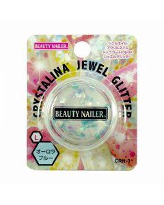 Crystalina Jewel Glitter (Hexagon) Aurora Blue CRN-3 L (2g)