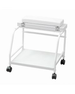 Pedi Stand (Top plate folding type) White
