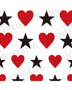 Love Etoile Red & Black