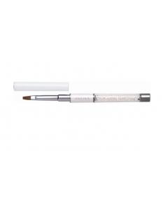 Mithos Diamond Gel Brush Flat 4 White (89871)