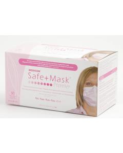 Premium Safe Masks Pink (50 pieces)
