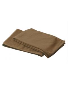 ECO Pile Textile Gauze Towel 34x85cm 12 units Dark brown