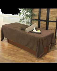 ECO Pile Oversized Towel Sheet SP EX 160 × 260cm (Dark Brown)