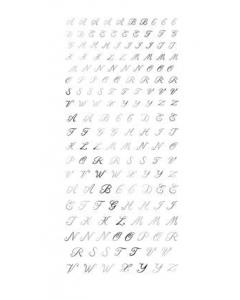 TSUMEKIRA Alphabet Silver SG-ALP-101