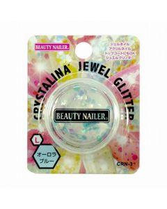 Crystalina Jewel Glitter Aurora Blue CRN-3 L (2g)