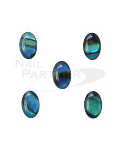 Art Parts Shell Stone 30 pcs Blue