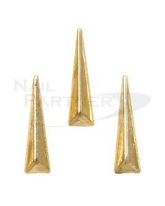 Clou 3D Triangle Long Gold (30 pcs)