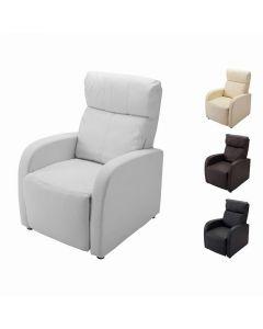 Lounge Chair DX (Legrest Interlocking Type) Black