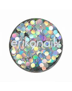 Hologram (Circle) Holo Silver ERI-70 2mm (2g)