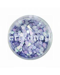 Hologram (Circle) Pastel Pearl Purple ERI-209 2mm (2g)