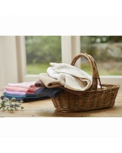 ECO Pile Fabric Towel 34 x 85cm (12pcs) Dark Brown