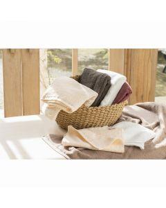 (Imabari Towel) Bulky PRO (Eco Canon) Bed Towel 138 x 200cm Dark Brown