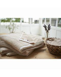 (Imabari Towel) ORGANIC Hand Towel 32 x 32cm Beige