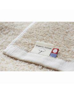 (Imabari Towel) ORGANIC Bath Towel 68 x 140cm Beige