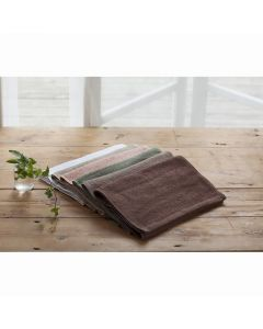Luxia (For Hotels) Organic Cotton Towel 34 x 85cm (12pcs) Dark Brown