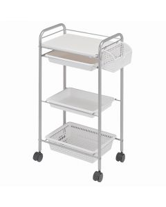N-5 Wagon II (Completely Assembled) 4 Tier Type White