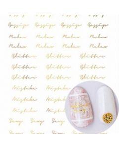 TSUMEKIRA Addiction Matte Gold [SG-NYM-109]
