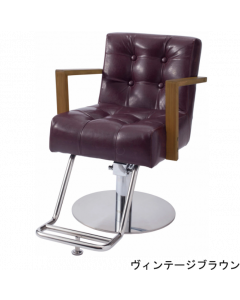 ALBERO (Brown) Styling Chair with 5 Legged Base HD-7M