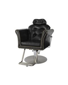 [PREMIUM] Manual Shampoo Chair BELTA-S Vintage Black