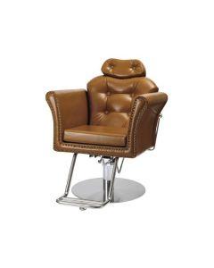 [PREMIUM] Manual Shampoo Chair BELTA-S Camel Brown