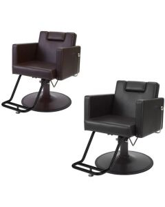 Manual Shampoo Chair HD-059S Brown / Black