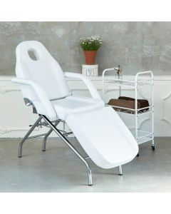 F-202 Standard Beauty Bed (Face Hole Type - White)