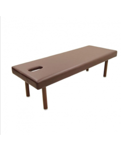 Perforated King Massage Bed K-5DX (W75xL190xH70) Dark Brown