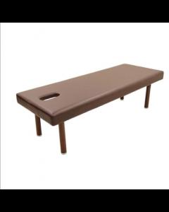[High Density Urethane] Perforated Wide Massage Bed W-5DX Dark Brown [L190xW70cm]