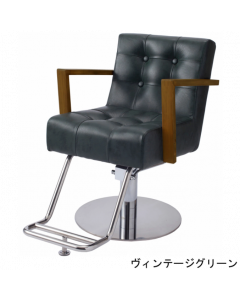 ALBERO (Vintage Green)  Styling chair with 5 Legged Base HD-7M