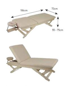 Luxia (FREGA) High Class Wooden Reclining Bed