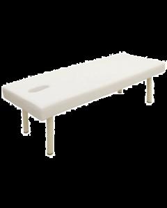 [High Density Urethane] Perforated King Massage Bed K-5DX White [L190xW75cm]