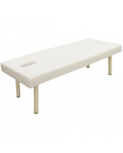 Perforated Standard Massage Bed S-5 DX (White) 50cm Height