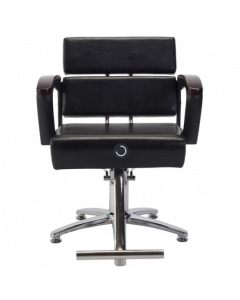 HD-051(Vintage Black) Styling Chair with 5 Legged Base HD-7M