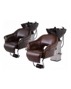 Back Shampoo Unit CLUB-RII Single Lever Type Vintage Brown / Old Brown