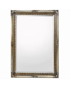 (Styling Wall Mirror) Rococo Silver (Regular Size)