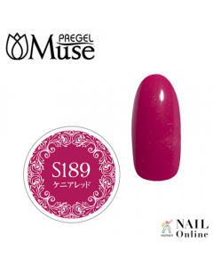 Muse Colour Gel S PGM-S189 Kenyan Red 4g