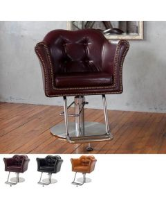 [LUXURY] Styling Chair In Japan BELTA Vintage Black / Camel Brown / Vintage Brown  *In case of 5 legs base HD-7M