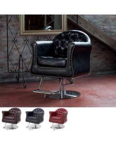 [Luxury] Styling Chair MASSIMO Vintage Red / Vintage Brown / Vintage Black