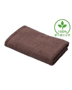 [Luxury Hotel Standard] Organic Cotton Bath Towel (M) 70X140cm Cocoa Brown