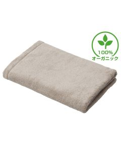[Luxury Hotel Standard] Organic Cotton Bath Towel (M) 70X140cm Sand Beige