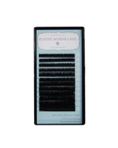 Platinum Mink Ultra Thin Volume Lashes C Curl 0.07 thickness 14mm SINGLE