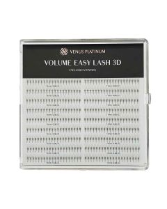 TOP MODE Volume Easy Lash 3D D Curl [Thickness: 0.06] [Length: 12mm]