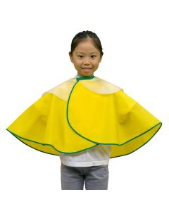 No. 1014 Children Hairdressing Cape (Attached Shampoo Cloth) Yellow