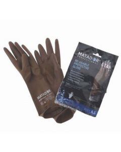 Rubber Gloves 8.5 inches