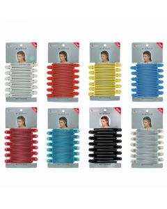 Curl Clip LL Clear 12pcs 102MM