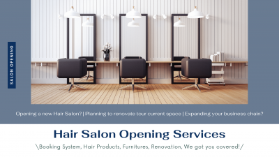 Hair Salon Opening Services