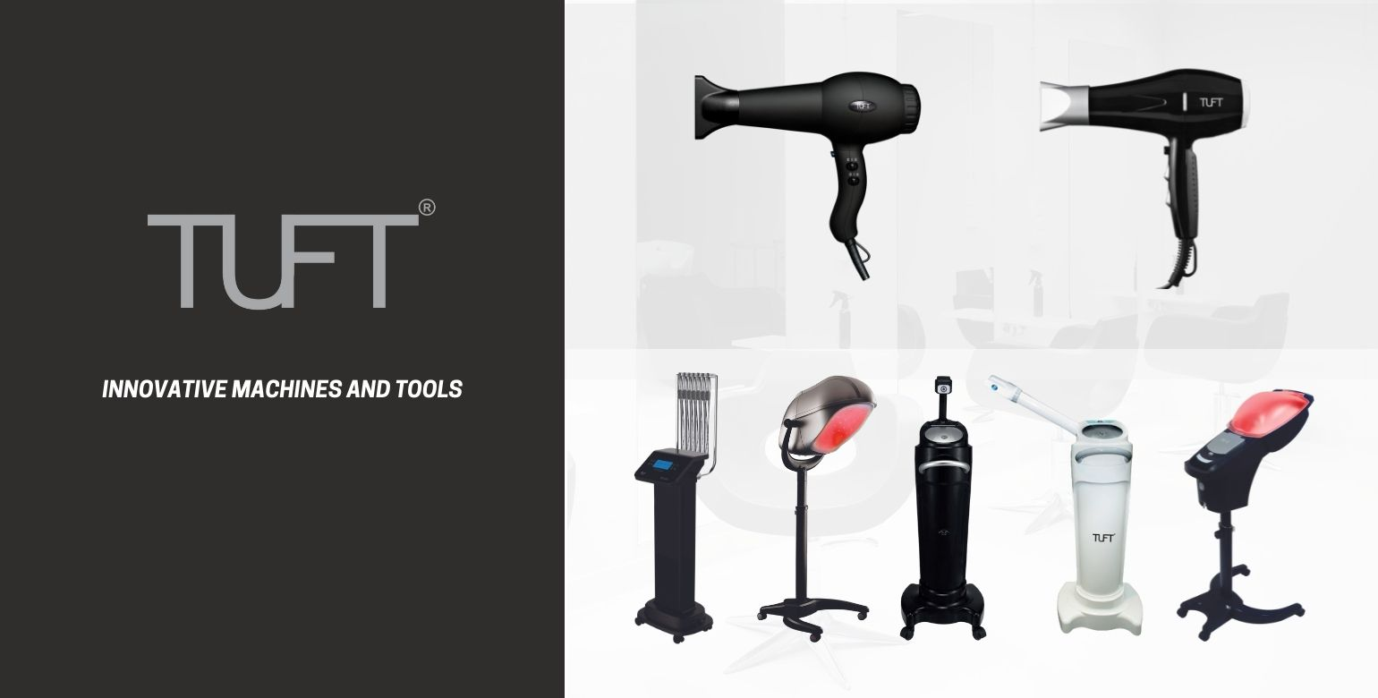 TUFT, Innovation Hair Dryers and Professional Machines